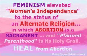 Feminism. Heal. 1-26-2016