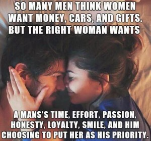 What women want in a man 2-18-2016